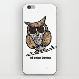 Oak Meadows Owls - Comicesque iPhone Skin