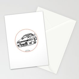 Crazy Car Art 0012 Stationery Cards