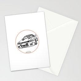 Crazy Car Art 0012 Stationery Cards