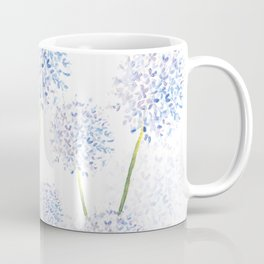 Pretty Flowers in Blue and Violet Coffee Mug