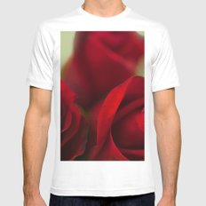 The Color of Love White Mens Fitted Tee MEDIUM