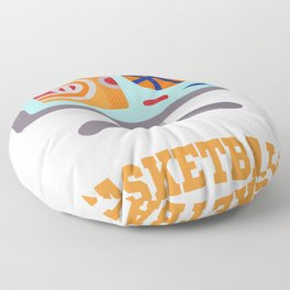 Don't Bother Me Watching Basketball Sports Fan  Floor Pillow