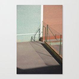 Divided Shadows Canvas Print
