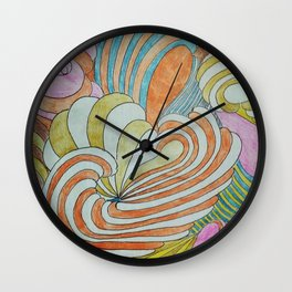 CREPUSCULO 4 Wall Clock