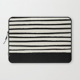 Black x Stripes Laptop Sleeve