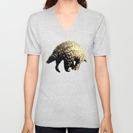 Pangolin Unisex V-Neck