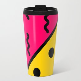 PopArt Pattern Travel Mug