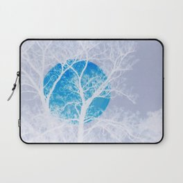Once in a blue moon Laptop Sleeve