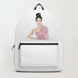Rose girl Backpack