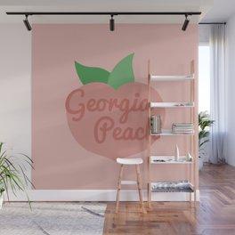 Georgia Peach Wall Mural