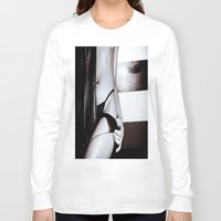 tinker bell Long Sleeve T-shirts featuring bell by Camera Campbell