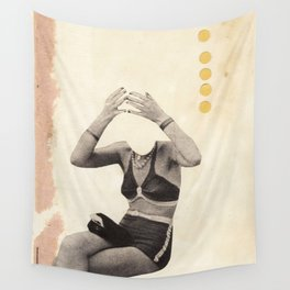 Losing my Head Wall Tapestry