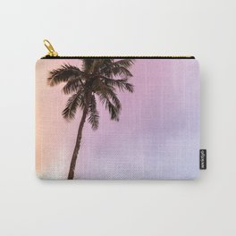 Vintage Tropical Palm Tree Carry-All Pouch