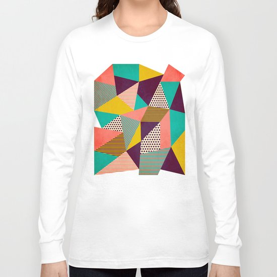 Geometric Love II Long Sleeve T-shirt