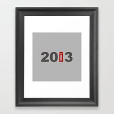2013-London Framed Art Print