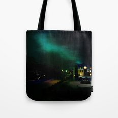 Northern Lights in Tromso Tote Bag