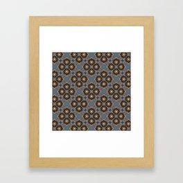 Beautiful Beadwork Inspired Print Framed Art Print