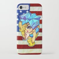 telephone iPhone & iPod Cases featuring Telephone by Mickey Spectrum