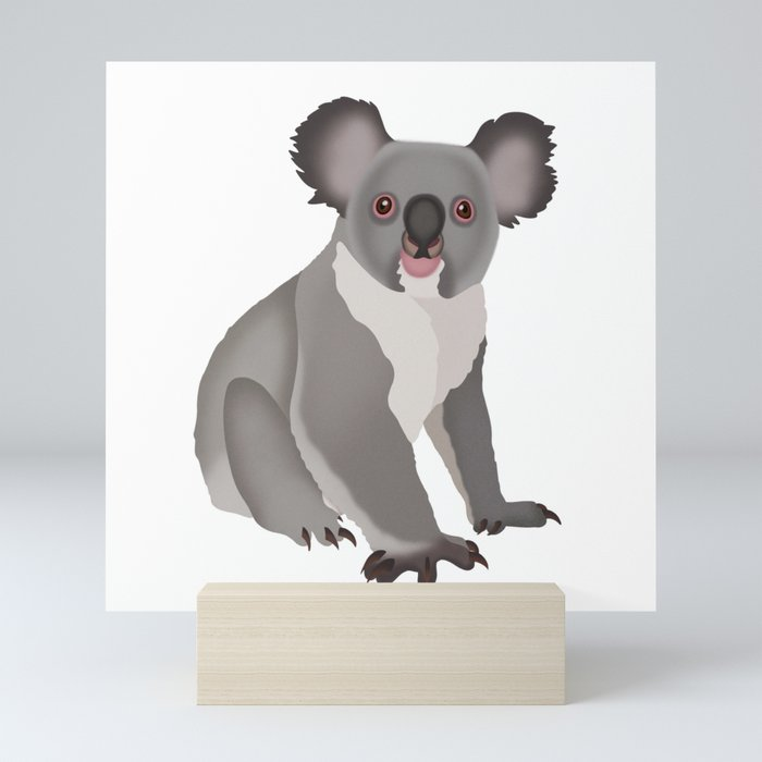 Koala Bear Mini Art Print