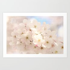 spring has begun Art Print
