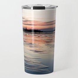 Saint Malo au coucher du soleil / Sunset in Saint Malo Travel Mug