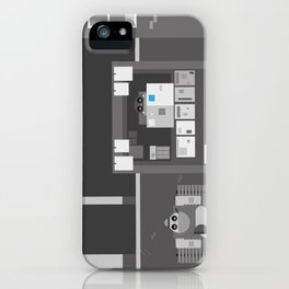 Another Grey Day iPhone Case