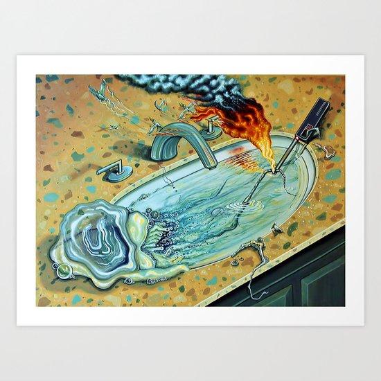 """Gelatinous Gestation"" Art Print"