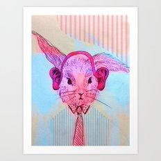 FunnyBunny Art Print