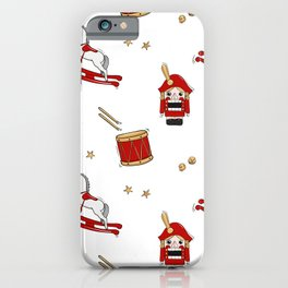 Nutcracker Christmas winter holiday gift iPhone Case