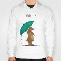wildlife Hoodies featuring Wildlife by AhaC