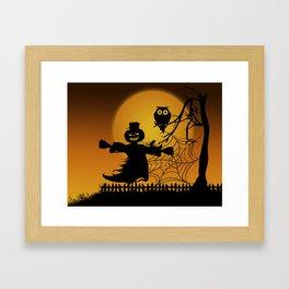 Spooky Halloween 5 Framed Art Print