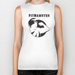 FitMawrter Design in Black Biker Tank
