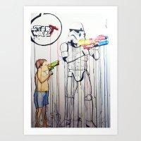 Start Wars Art Print