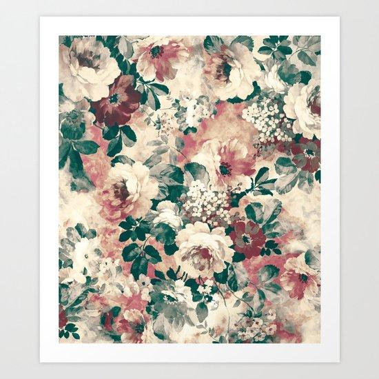 Quiet Garden Movement Art Print