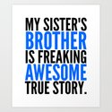 MY SISTER'S BROTHER IS FREAKING AWESOME TRUE STORY by creativeangel