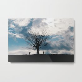 The famous lonely tree Metal Print