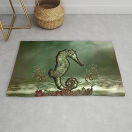Wonderful seahorse Rug