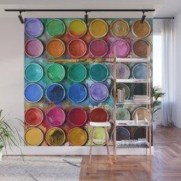 Pallet Abstract Art Wall Mural