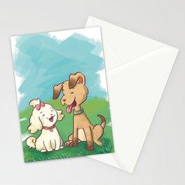 Spavinho e bonequinha  (Spavinho and Little Doll) Stationery Cards