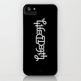 Life/Death iPhone Case