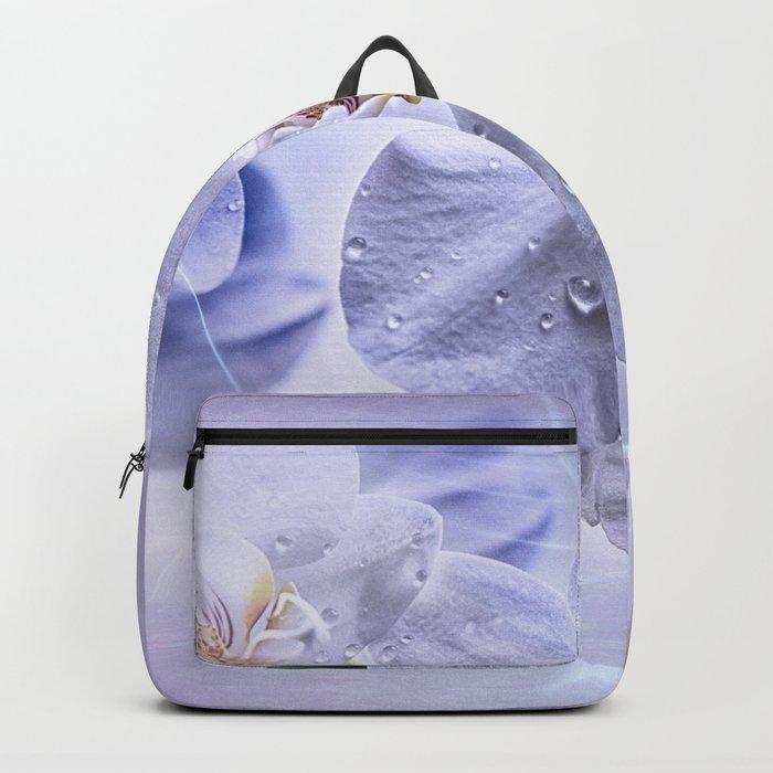 Weiße Orchideen Backpack