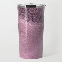 beautiful pink foil Travel Mug