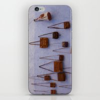 leather iPhone & iPod Skins featuring Leather by Marie von Hafften