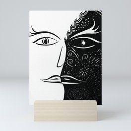 Balanced Brain Mini Art Print