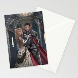 Red Rope of Fate KM Shea Cover Illustration Stationery Cards