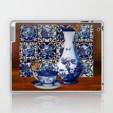 Blue Willow Stillife Laptop & iPad Skin