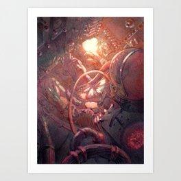 Sigma 7b reentry Art Print