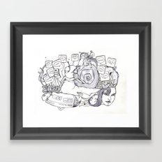 Project 5 Ge Framed Art Print