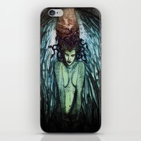 medusa iPhone & iPod Skins featuring Medusa  by CLE.ArT.