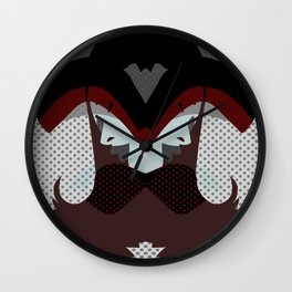 A red-haired woman - Abstrac42 Wall Clock